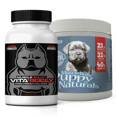 Vita Bully | Puppy Naturals 60 Serving Combo Pack *authorized Seller*