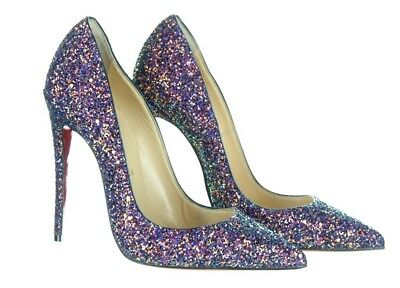 1359b74de921 Christian Louboutin So Kate Glitter Pumps in China blue dragonfly glitter 36