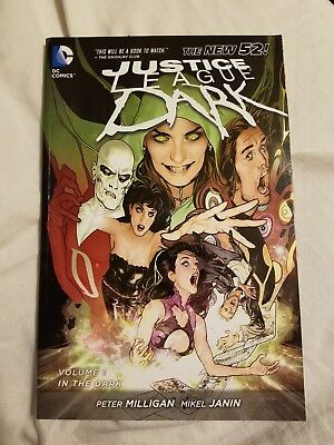 Justice League Dark Vol 1 In The Dark The New 52 Justice League