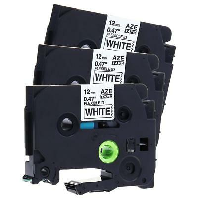 TZ-231 TZe-231 Compatible for Brother P-touch Label Tape Cartridge 12 mm 3pk