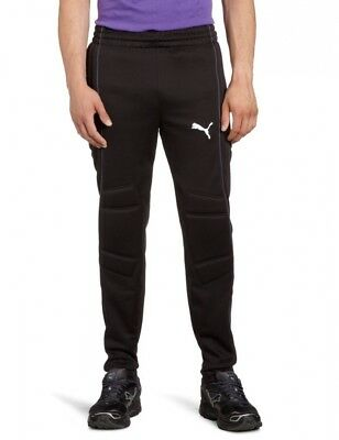 (XX-Large, black-team charcoal) - Puma Men's Goalkeeping Trousers with Padding