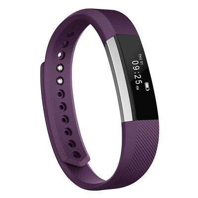 (Silver/Purple) - Fitness Tracker, MoreFit Slim Touch Screen Activity Health