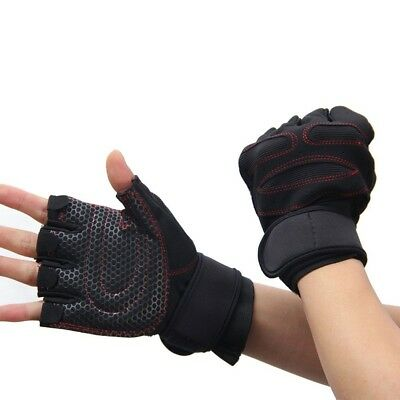 (Black, Large) - YYGIFTreg; Durable Microfiber Cloth Non-slip Gloves