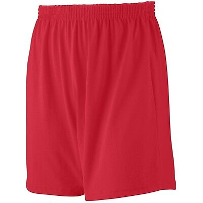 (X-Small, Red) - Augusta Sportswear BOYS' JERSEY KNIT SHORT. Shipping Included