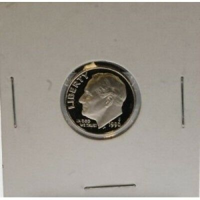 1996 S UNITED STATES MINT PROOF DIME 10 CENT COIN. Twin City Gold. Free Shipping