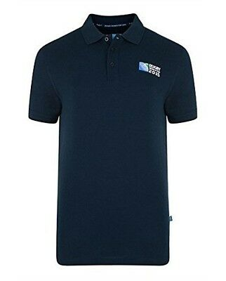 (Navy, Small) - Canterbury Men's Rugby World Cup No.8 Polo. Free Shipping