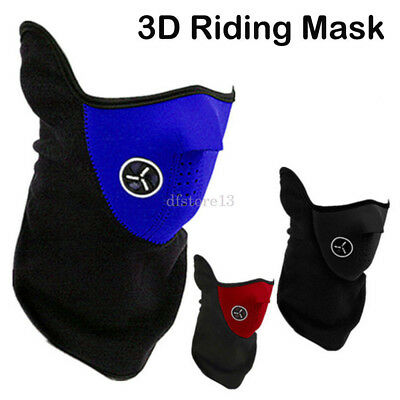 a01c29643c7 Outdoor Windproof Motorcycle Neck  Face Mask Winter Warm Ski Cycling Riding  Veil
