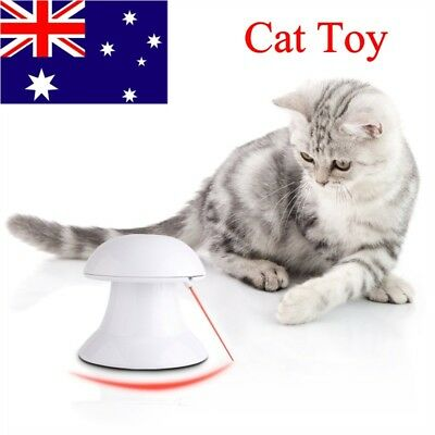 Pet Cat Dog Funny Automatic Interactive Dart Laser Light Exercise Teaser Toy AU