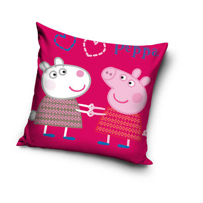 NEW LICENSED PEPPA PIG SUZY SHEEP cushion cover 40x40cm 100% COTTON
