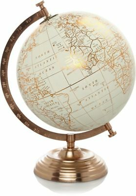 Geographic World Globe Stand Vintage Rotating Atlas Office Desk Ornament Decor