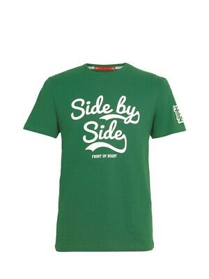 (2X-Large, Z82 Light Green) - Front Up Rugby Men's Anthem T-Shirt. Brand New
