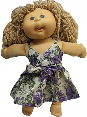 Eye Catching Sun Dress For Cabbage Patch Kid Dolls. Doll Clothes Super store