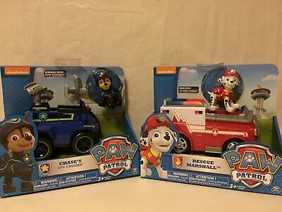 Paw Patrol Chase's Spy Cruiser & Paw Patrol Marshall's Ambulance. Free Delivery