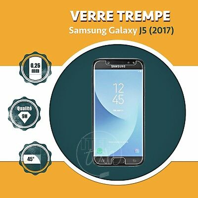 LOT X1 À X2: ViTRE FILM PROTECTION ÉCRAN EN VERRE TREMPÉ SAMSUNG GALAXY J5 2017