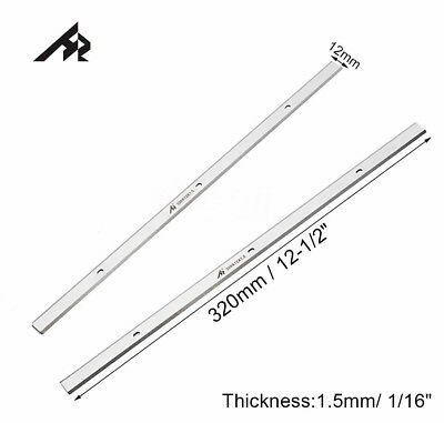 2Pcs HSS Replacement Planer blades for the WEN 6550 12.5-Inch Thickness Planer