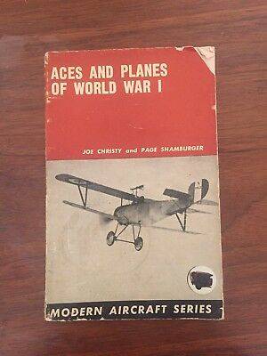 Aces and Planes Of World War I by Joe Christy and Page Shamburger 1968