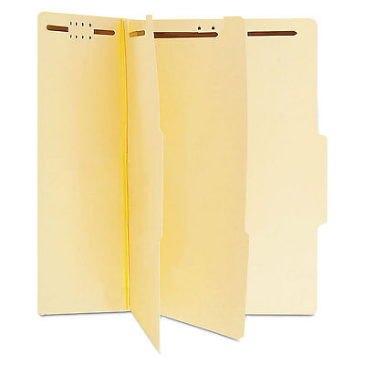 UNIVERSAL Manila Classification Folders Letter Six-Section 15/Box 10300