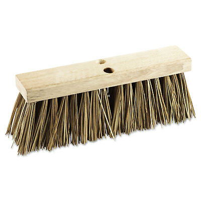 "Boardwalk Street Broom Head 16"" Wide Palmyra Bristles 71160"