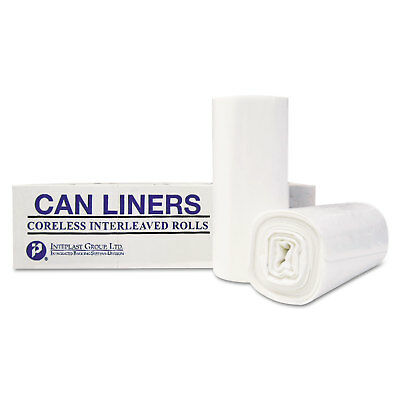 Inteplast Group High-Density Can Liner 36 x 58 55-Gallon 13 Micron Equivalent