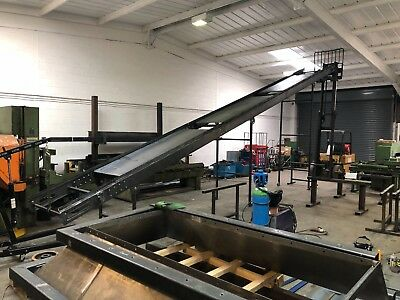Conveyor Belt system brand new build 500mm wide belt 5m long