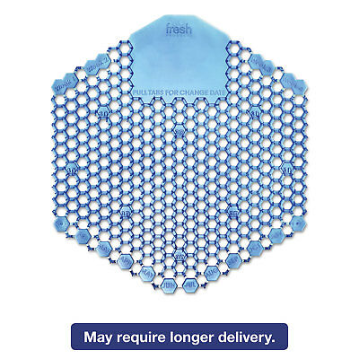 FRESH PRODUCTS Wave 3D Urinal Deodorizer Screen Blue Cotton Blossom 10/Box 60