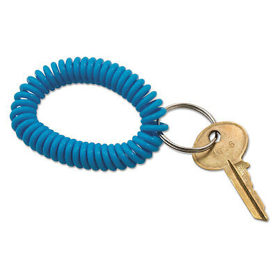 Advantus Spiral Key Chain Plastic Blue/Green/Pink/Purple 4/Pack 97009