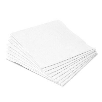 "Medical Exam Drape Sheets Disposable White Paper 2-Ply 40""x48"" - LOT OF 100!!"