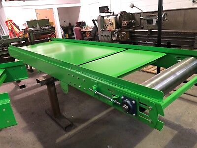 Conveyor Belt system brand new build 1000mm wide belt 6m long