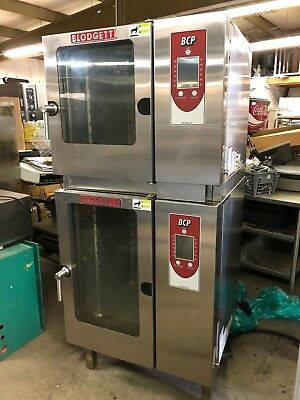 2014 Blodgett BCP BLCP-61 / BLCP-101 Boilerless Combi Double Stack Cooking Oven