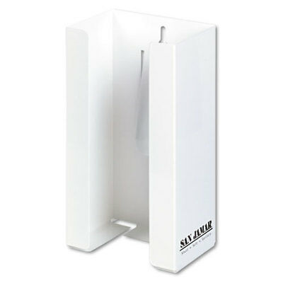 THE COLMAN GROUP, INC White Enamel Disposable Glove Dispenser Single-Box 5 1/2w