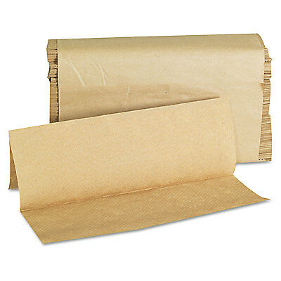 GENERAL SUPPLY Folded Paper Towels Multifold 9 x 9 9/20 Natural 250 Towels/PK 16