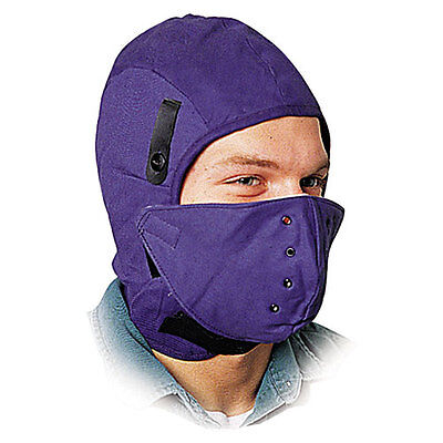 North Safety Deluxe Fire-Retardant Hard Hat Winter Liner w/Face Protection One