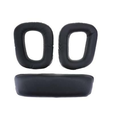 Replacement Ear Pads Headband for Logitech G35 G930 G430 F450 Headphones Quiet
