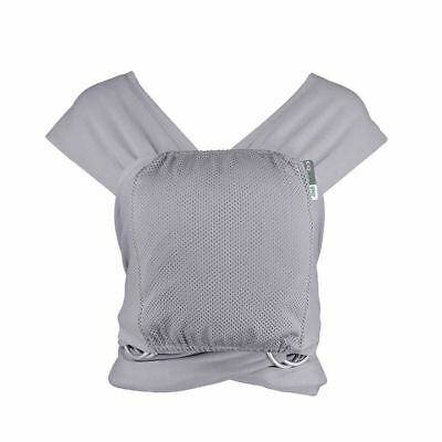 Caboo Close-Multi Position Baby Carrier (Greystone) Easy On Easy Off NEW Boxed