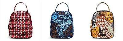 Vera Bradley Lunch Bunch Lunch Bag NewWT Color Choice