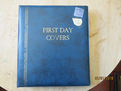 No-37 - FDC  ALBUM  21  PAGES  WITH  110   FDC'S---FULL  ALBUM