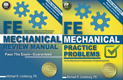 FE Mechanical Review Manual and FE Practice Problems Michael R. Lindeburg Exam