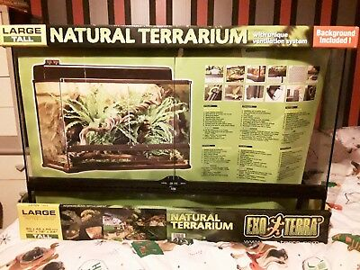 Exo Terra Natural Terrarium Large Tall 90 45 60cm 129 99
