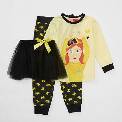 NEW The Wiggles Emma Pyjama Set With Skirt Kids