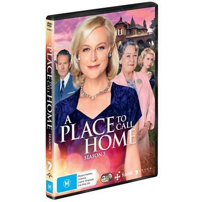 BRAND NEW A Place To Call Home : Season 5 (DVD, 2018, 3-Disc Set) R4