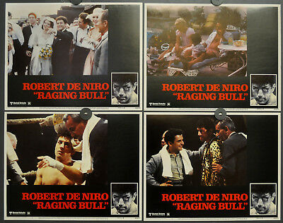RAGING BULL 1980 ORIG 11X14 MINT LOBBY CARD SET ROBERT De NIRO JOE PESCI