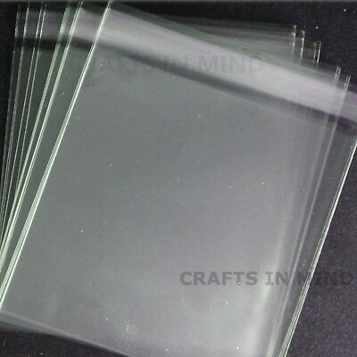Clear Cello Bags Self Seal for Prints Display Cards | Cellophane A5 A4 A3 A2 etc
