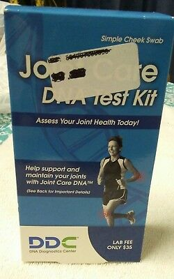 DDC Joint Care DNA Test Kit Assess Your Joint Health Today