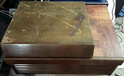 Vintage Air King Original Wood Cabinet Record Player ** COLLECTOR'S SPECIAL! **