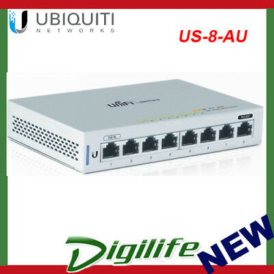 Ubiquiti Networks Unifi Switch 8 Managed 8-Port Gigabit Switch