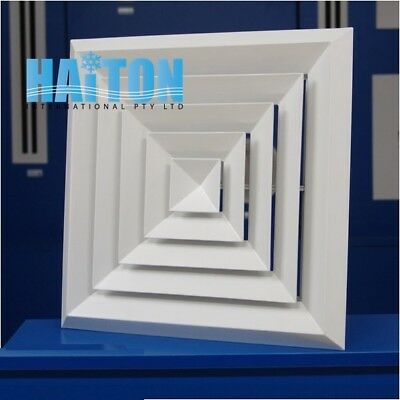 DUCT SQUARE CELILING AIR DIFFUSER/ ALUMINUM   Mode:BD4 375x375mm