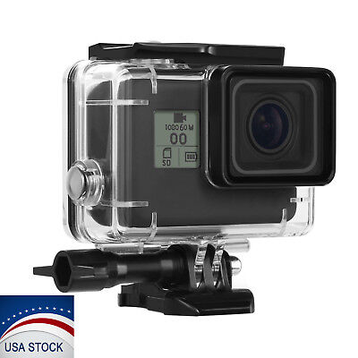 GoPro Hero 6/5 Underwater Case Waterproof Diving Housing Surfing Protective Kit