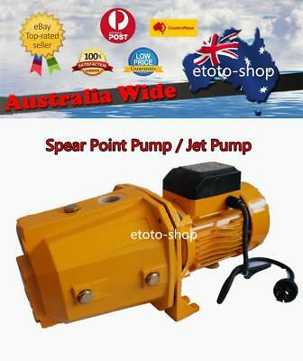 Household Self Priming Cast Iron Jet & Spear Point Pump Garden Irrigation