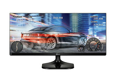 LG 25UM58-P 25-inch Full HD IPS Black computer monitor