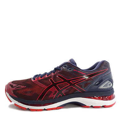 differently cad16 7a7ab ASICS GEL-NIMBUS 19 [T700N-5806] Men Running Shoes Peacoat/Red Clay